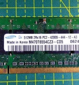 Оперативна память для ноутбуков