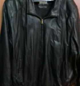Куртка кожанная. Весна,осень