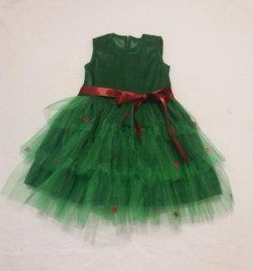 Новогоднее платье ЕЛКА