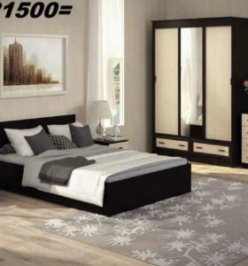 Спальня Ронда со шкафом-купе от тхм-кавказ
