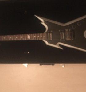 Электрогитара Dean Razorback Two-Tone Silverblast
