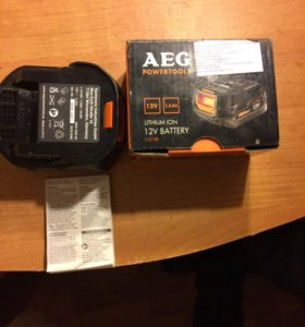 Аккумулятор AEG 12V 1,5 Ah