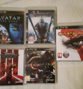 5 дисков за 1000. Игры для PS 3