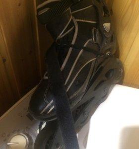 Коньки роликовые, с сумкой. 41 размер