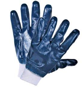 Перчатки резиновые, нитриловые