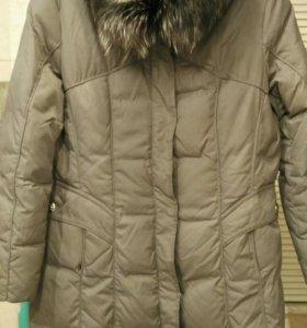 Пуховик-пальто женский, 48-50, торг