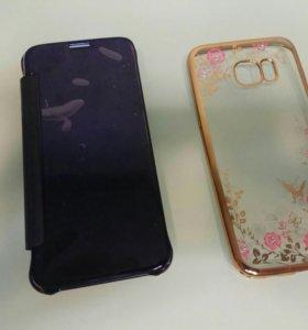 Чехлы  на Galaxy S7,S7edge