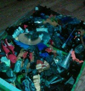 Лего бионикл россыпью купите или обменяйте на нерф
