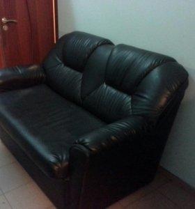 Комплект мебели для руководителя черный
