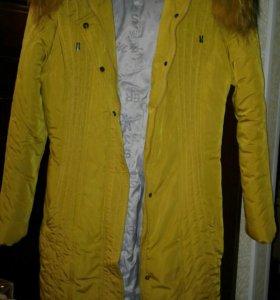 Теплые куртки