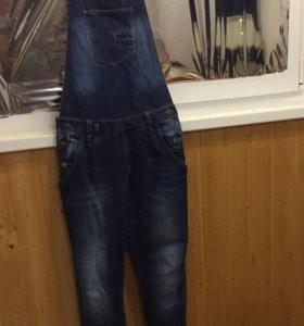 Комбез джинс