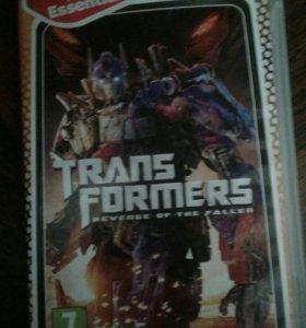 Диск на psp transformer