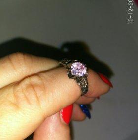 Серебряное кольцо 875 пробы