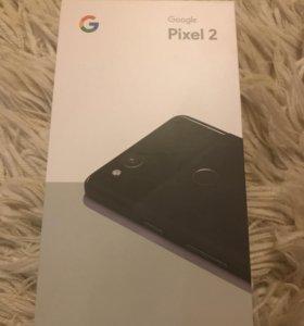 Google Pixel 2 новый запечатан чёрный 64 Гб