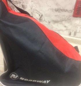 Коньки +сумка NORDWAY разм.42
