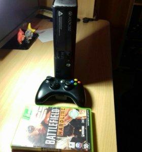 Xbox 360 e (500гб) +1 игра