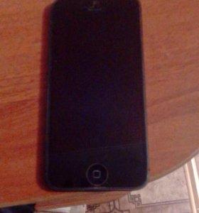 iPhone 5, с блютуз наушниками