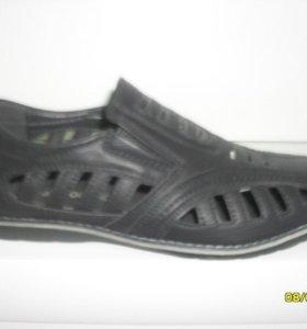 Подростковые туфли-открытые