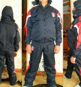 Мужской новый лыжный костюм зимний
