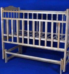 ❗️Детская кроватка-маятник❗️