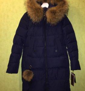 Куртка мех енота