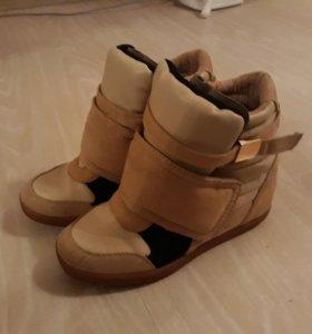 Сникерсы кроссовки Bershka