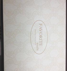 Постельное белье Сатин-жаккард с кружевом фт-парфе