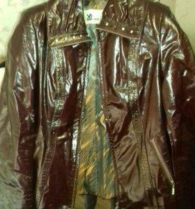 Куртки кожаные в ассортименте