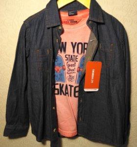 Рубашка и футболка LC Waikiki 110-116 новая