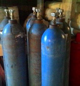 Баллон кислородный 40 литров.