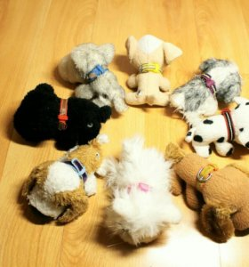 The Dog Collection. Мягкие игрушки. Собачки