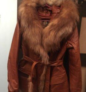 Куртка зимняя на меху, размер 44-46