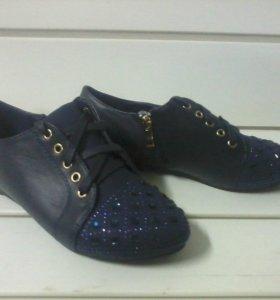 Туфли на сплошной подошве