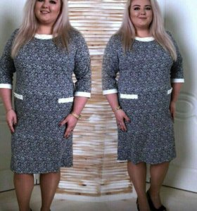 Продам платье новое большой размер с жемчугом
