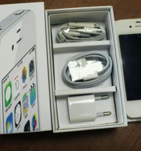 iPhone 4 s 16 gb Белый White Новый