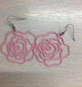 Серьги-Розы
