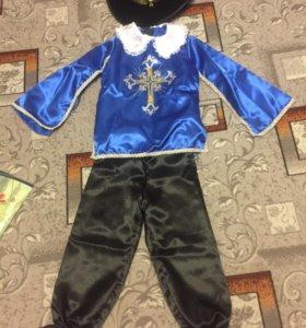 Новогодний костюм мушкетёра (прокат)