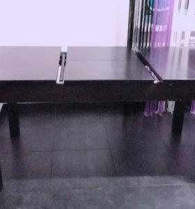 Стол кухонный цвета венге