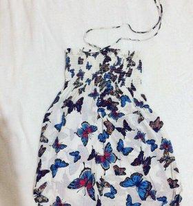 Платье-топ летнее