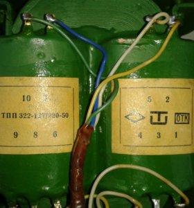 Трансформатор тпп 322-127/220-50