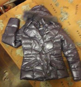 Теплая куртка - пуховик