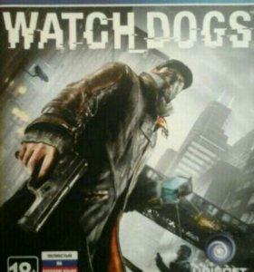 Игра на PS4 Watch dogs.