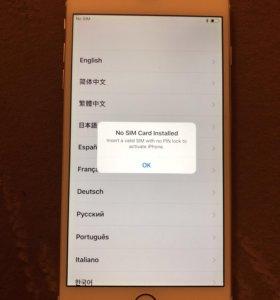 iPhone 6plus 64g golg