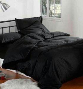 Черная постель