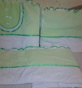 Борта в детскую кроватку