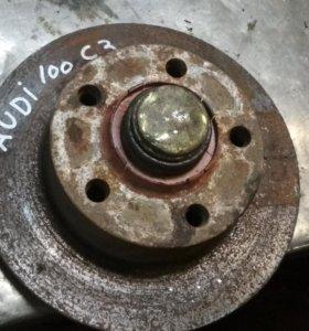 Задней тормозной диск 5х112 audi 100 c3