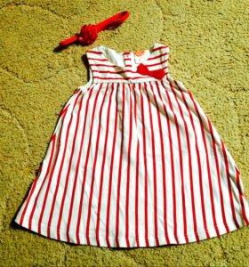 Детское платье 74-80 размер