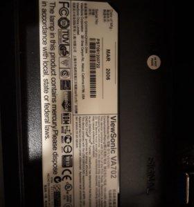 монитор 17 дюймов Viewsonic VA702