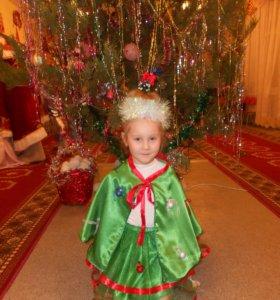 детский новогодний костюм ёлочька
