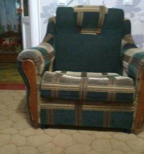 Кресло раскладное 2 штуки